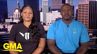 Maya Moore and husband, Jonathan Irons, talk about ESPN doc l GMA
