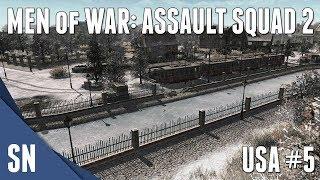 #5 BASTOGNE - Men of War: Assault Squad 2 - US Campaign Gameplay