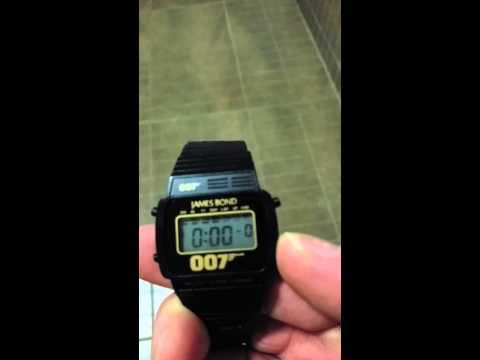 007 James bond digital watch eon productions