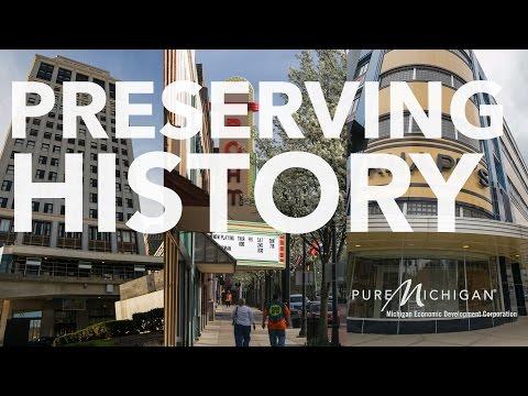 Preserving History | Michigan Economic Development Corporation