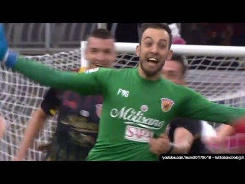 Benevento-Milan 2-2 - ALBERTO BRIGNOLI gol al 95° - Radiocronaca di Massimo Barchiesi (3/12/2017)