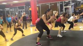Zumba with Natalie Bargas- Kill the dance (squat/leg toning song)