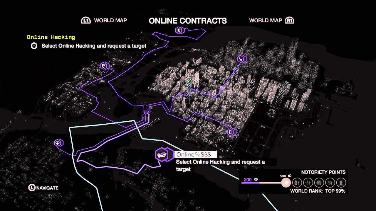 Watch Dogs Online Contracts
