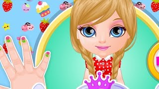 Baby Barbie Kawaii Nails - Barbie Girl Full Game Video Episode