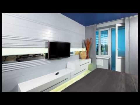 Дизайн спальни с балконом. Спальня 14 кв м