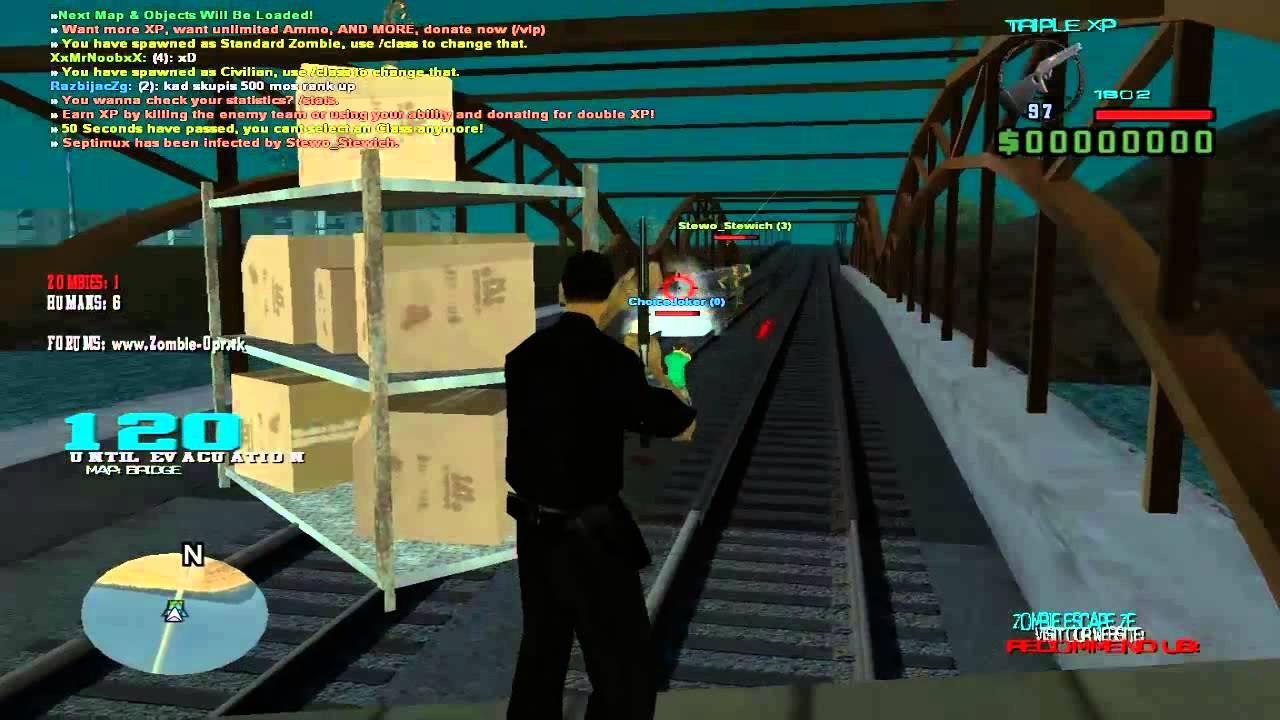 Zombie gamemode для сервера css установка vpn сервер на windows 2003