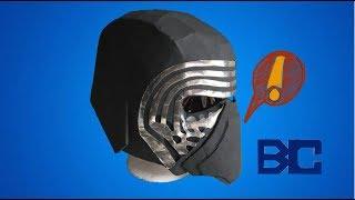 DIY: Star Wars Kylo Ren helmet Part 1: Free Templates