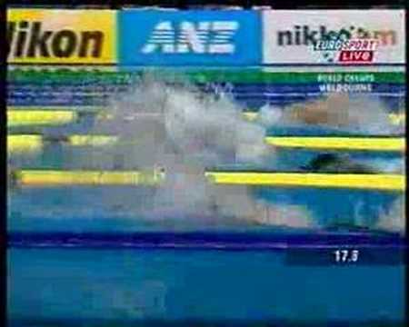 50 Meters Butterfly Swim-off at WC Melbourne 2007