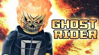 LEGO Marvel : Robbie Reyes GHOST RIDER - Showcase