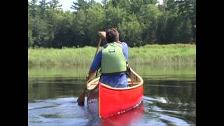 How to Keep Your Canoe Going Straight When Paddling Solo