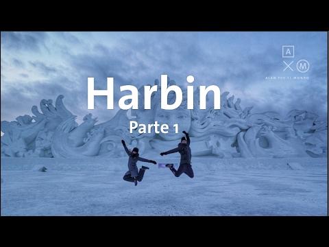 El festival de nieve en Harbin! Parte 1
