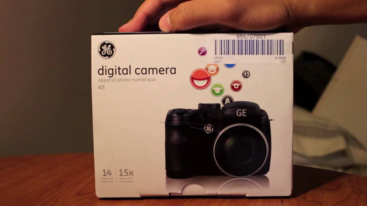 Camera Ge Dslr Camera ge digital slr camera x5 14mp review youtube review