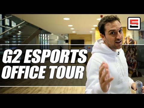 Carlos' private tour of the new G2 Esports office in Berlin | ESPN Esports