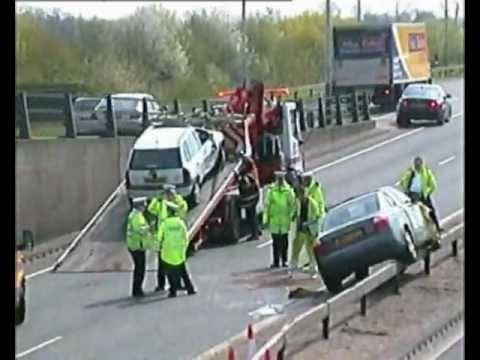 Car Crash Hayes Bypass A312 Youtube