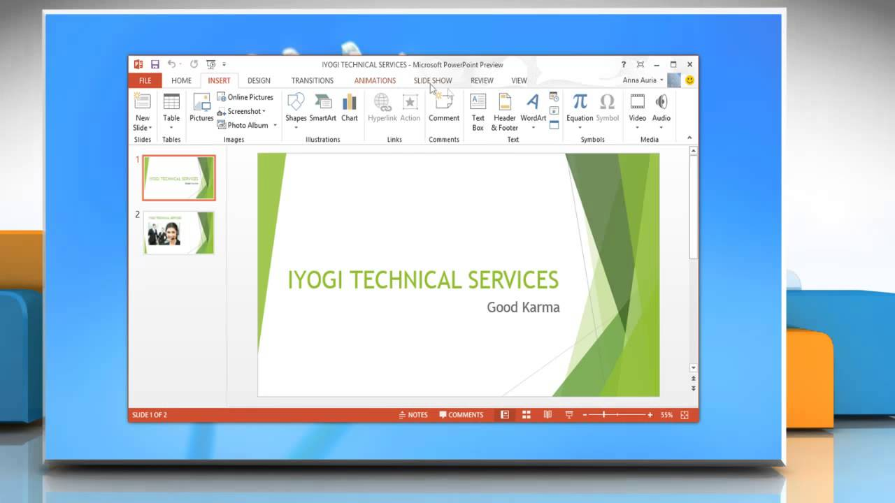 how to add youtube as a provider in powerpoint 2013