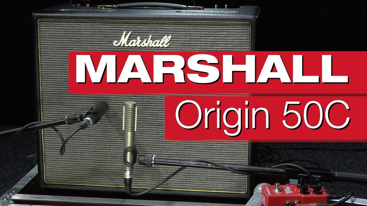 Marshall Origin 50C Combo Gitarrenverstärker-Review von session ... 4681456ccc88d