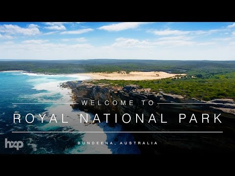 Australia - Royal National Park at Bundeena by Drone 4K