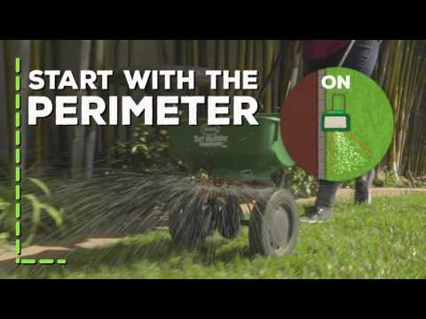 How To Use A Scotts® Broadcast Lawn Spreader