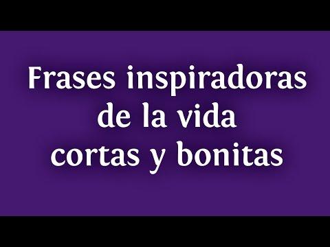 Frases inspiradoras de la vida cortas y bonitas para compartir en Facebook | INNATIA.COM
