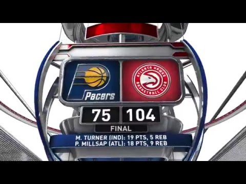 Indiana Pacers vs Atlanta Hawks - March 13, 2016