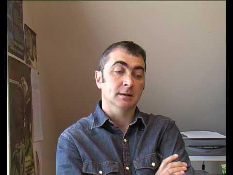 English Interview: Student Artist Donald Ferguson - YouTube