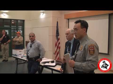 "Fairfax Co. PD discuss how they respond to ""Man with a gun"" calls 