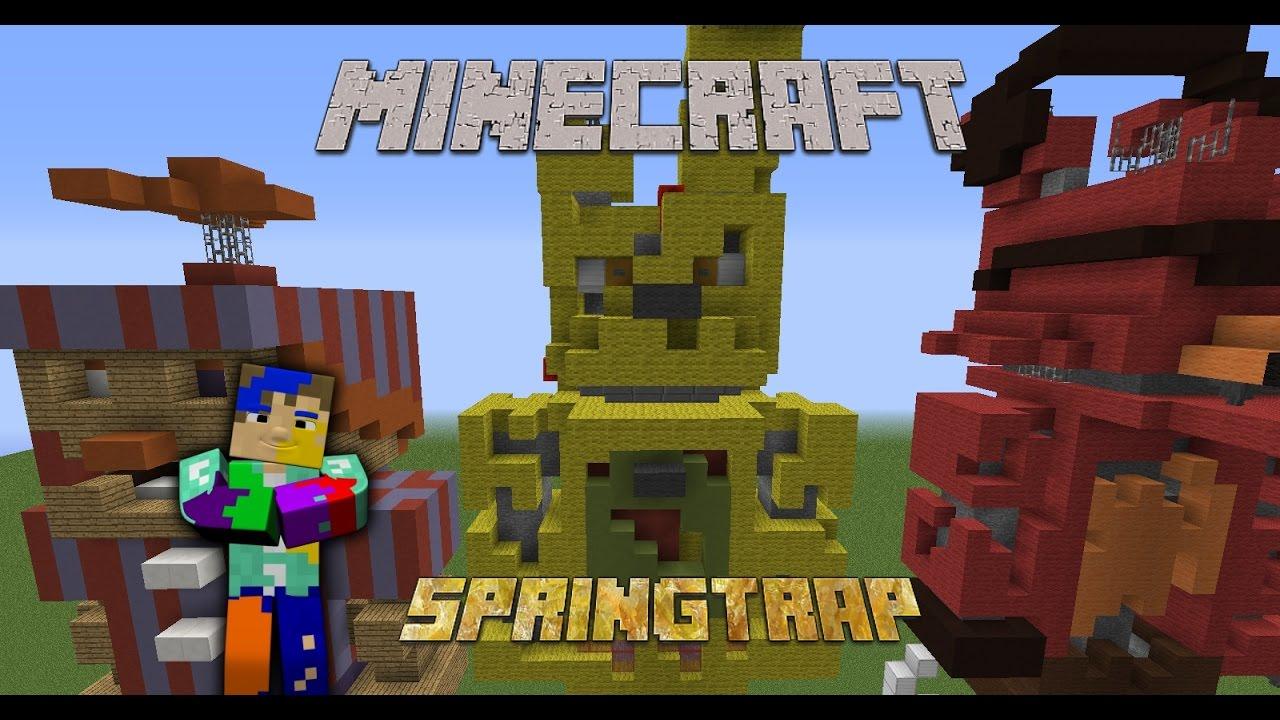 Minecraft Fnaf Springtrap Ii Speed Build