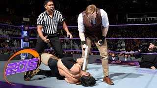 Hideo Itami vs. Gentleman Jack Gallagher: WWE 205 Live, Jan. 2, 2018