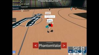 ]TSC-ROBLOX] NBL Round 1 Western Conference San Antonio Spurs vs Oklahoma City Thunder: Game 2