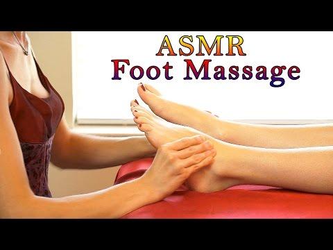Relaxing ASMR Massage # 4 , Softly Spoken & Gentle Whisper Full Body Massage, Foot Massage