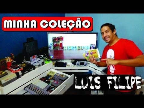 Minha Coleção de Games por Luis Filipe do canal REVSTV