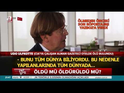 Udo Ulfkotte sein letztes Interview an aHaber (TR)