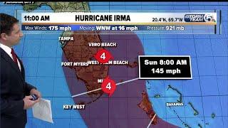 Hurricane Irma 9/7/17 - 11am update