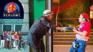 Vecinos, C13: Germán y Jorjais se  pelean | T9 | Distrito Comedia