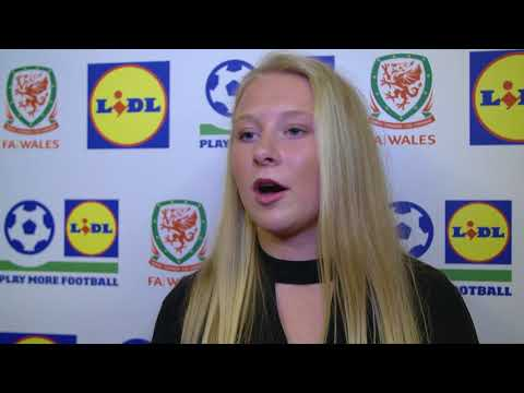 FAW Trust Video - Wales U15 captain Morgan Rogers