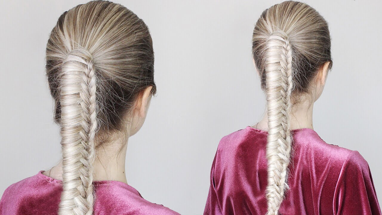 How To Chinese Staircase Braid Ponytail Youtube