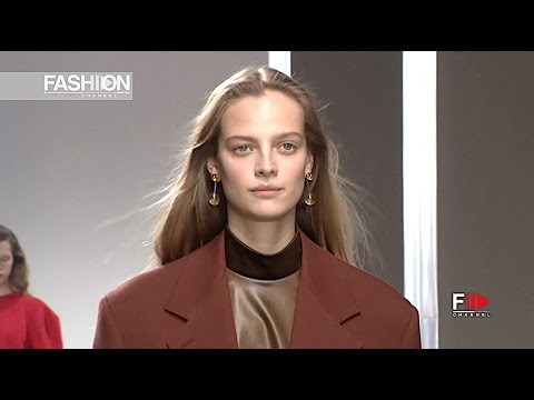 JIL SANDER Milan Fashion Week Womenswear Fall Winter 2017 2018 - Fashion Channel