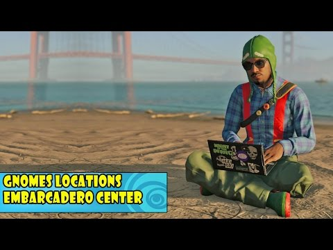 Watch Dogs 2 - Gnome Location - #3 - Embarcadero Center | Free Roam Gamplay (PC HD) [1080p60FPS]