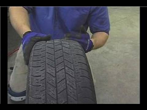 Car Tire Rotation Tips : Car Tire Rotation: Examine Tread Wear