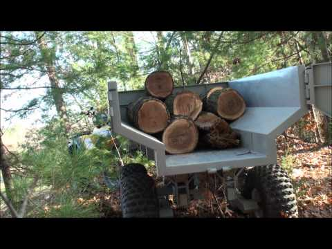 Custom ATV Trailer with Hydraulic Dump