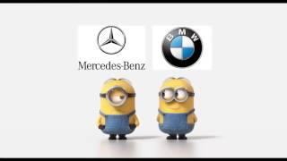 BMW VS MERCEDES Прикол с миньонами
