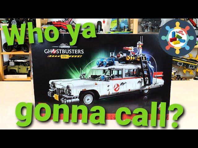 Who ya gonna call? - Livebuild des LEGO® 10274 ECTO-1 mit Gästen [BBFH]