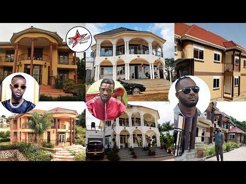 TOP 10 UGANDAN CELEBRITY CRIBS 2019. KENZO , BOBIWINE  NE BEBE COOL ANI ASINGA ENYUMBA EYAKABI