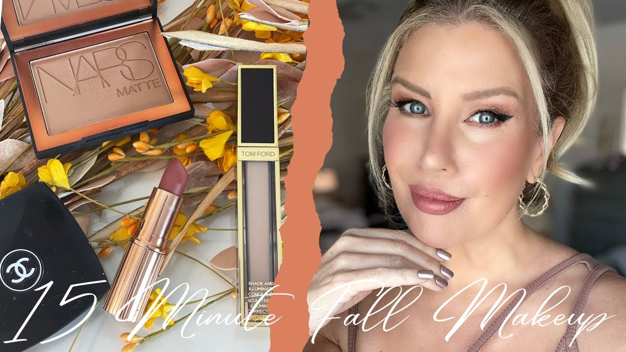 MY 10-15 MINUTE EVERYDAY FALL MAKEUP LOOK 🍂 | Risa Does Makeup