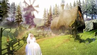 Crossdresser Sabrina is dreaming to be a fairytale princess