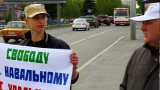 #ОккупайНулевой - пикет - Барнаул 21 мая