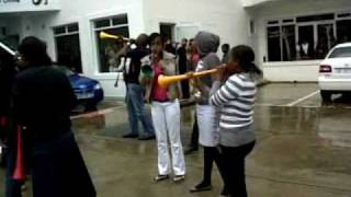 Vuvuzela Moments with Minenhle AKA Mini Cooper Gagasi 99.5 fm