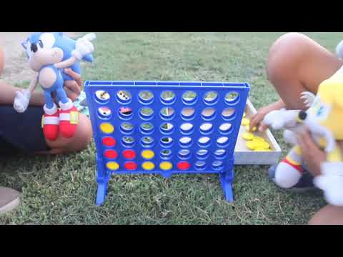 Sonic And Tails Play Board Games