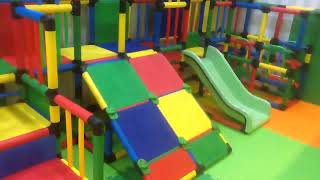 정글짐 음식점 어린이 놀이방 설치