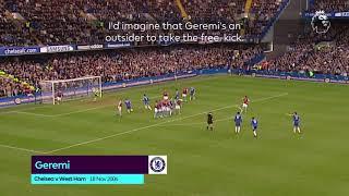 Geremi wonder freekick vs Westham United